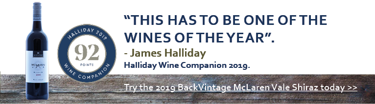 2016 McLaren Vale Shiraz receives 92 points from James Halliday Wine Companion