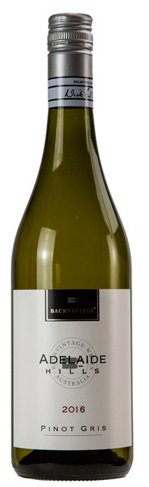 2016 BackVintage Adelaide Hills Pinot Gris - last cases!
