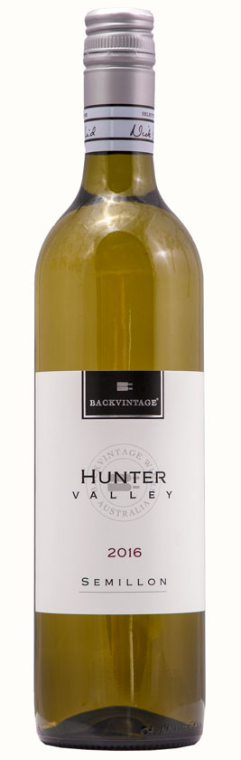 2016 BackVintage Hunter Valley Semillon