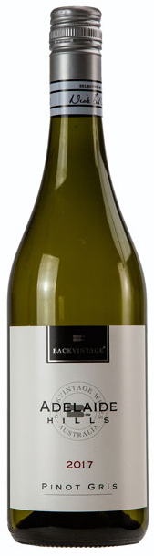 2017 BackVintage Adelaide Hills Pinot Gris - New!