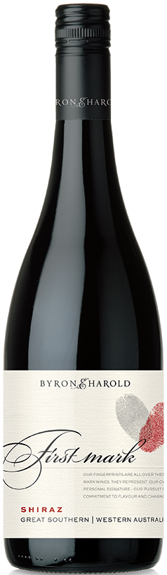 2018 First Mark Byron & Harold Great Southern Shiraz - only 25 cases left