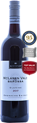 2017 BackVintage Old Vine McLaren Vale/ Barossa Grenache Shiraz - 95 Points, Gold Medal