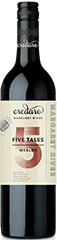 2018 Credaro Five Tales Margaret River Merlot - New!